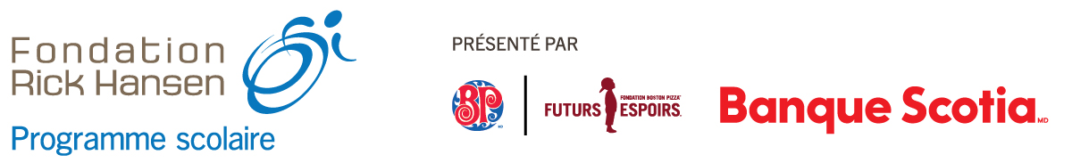 Presente par Fondation Boston Pizza et Banque Scotia