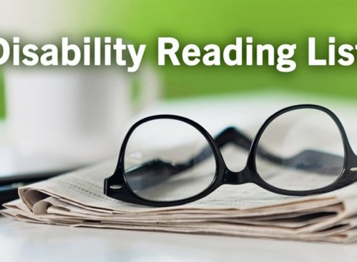 Text on Image says: Disability Reading List