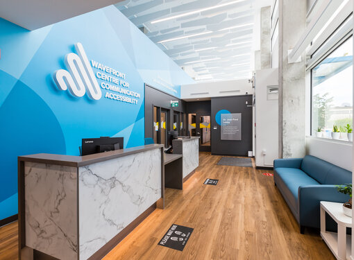 Lobby for Wavefront Centre for Communication Accessibility