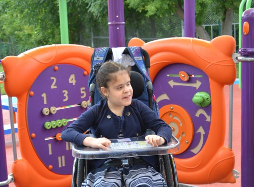 Rick Hansen creates accessible playgrounds and inclusion in built environment