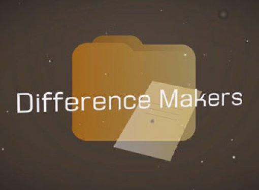 Text Graphic Says: Difference Makers