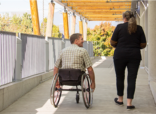 Barrier-free and accessible pathway for all abilities in built envrionment