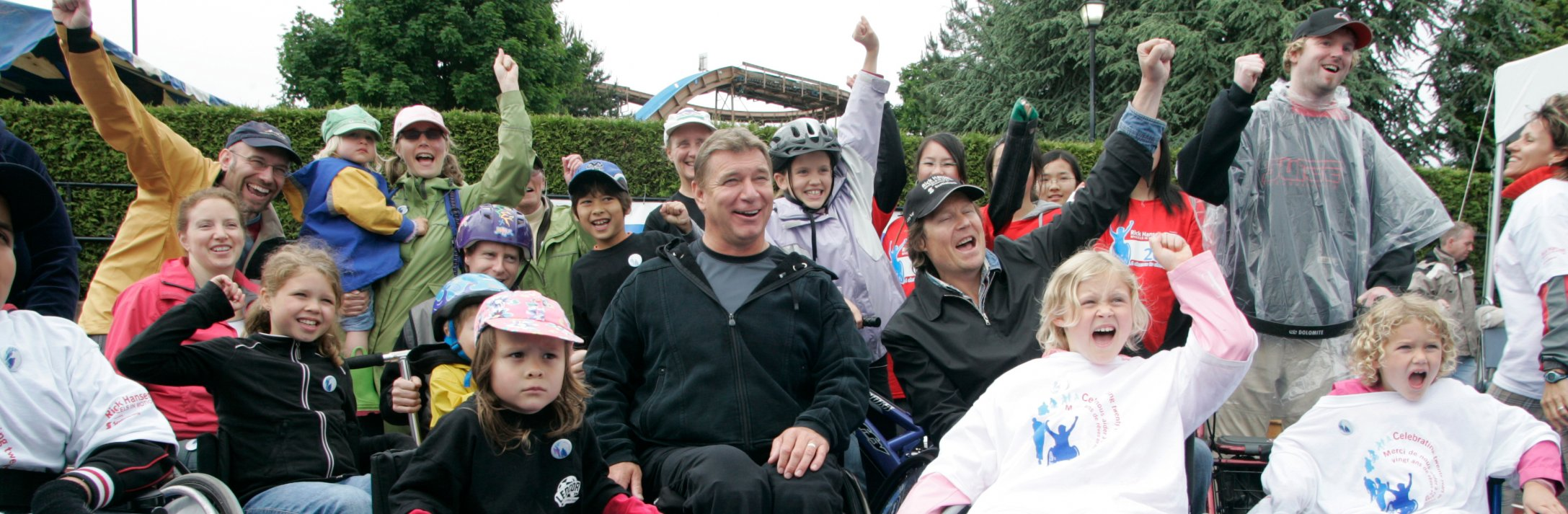 Rick Hansen believes that 'anything is possible'