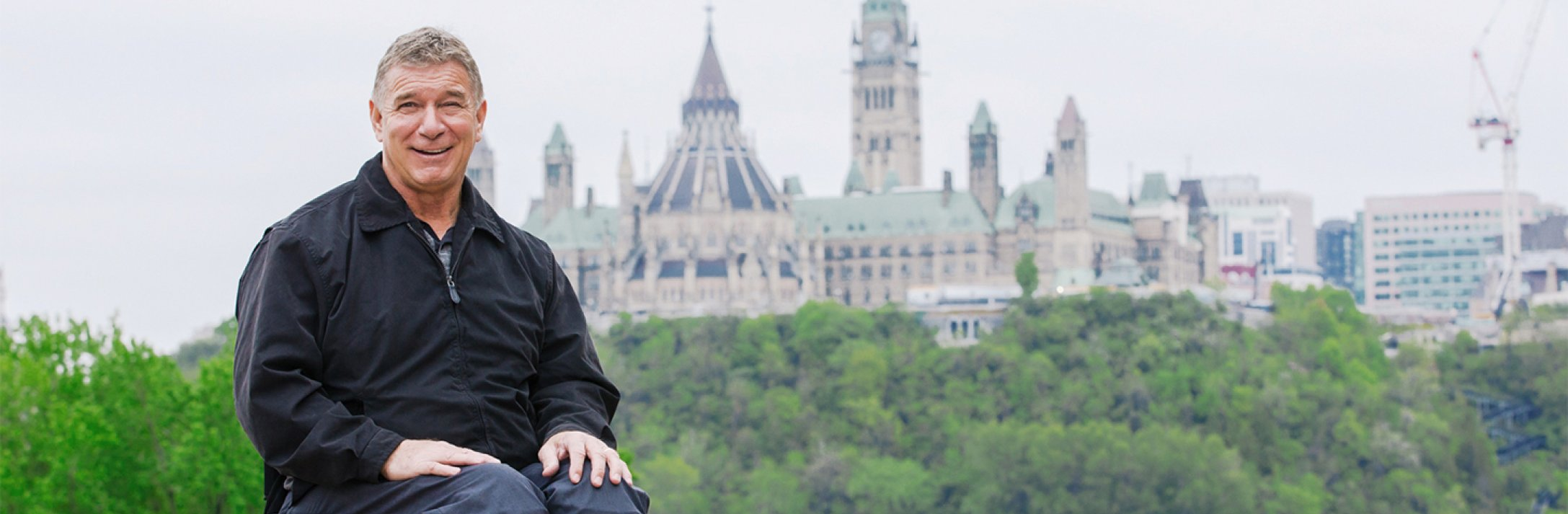 One-on-one with Rick Hansen