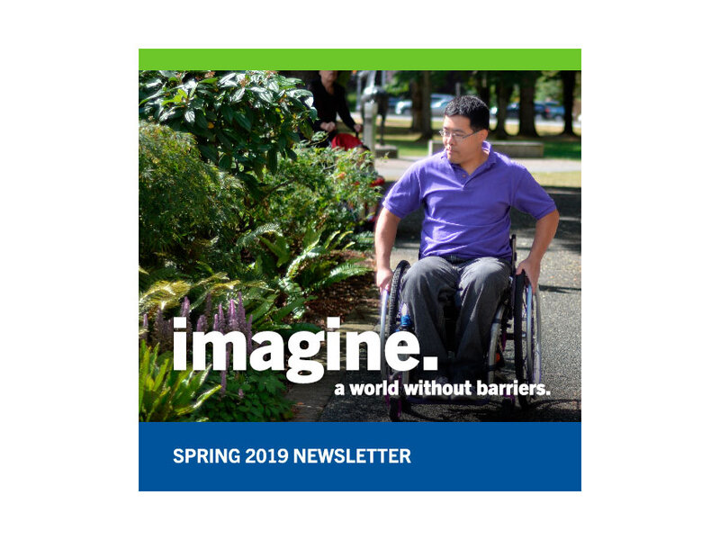 Rick Hansen Foundation Spring 2019 Newsletter