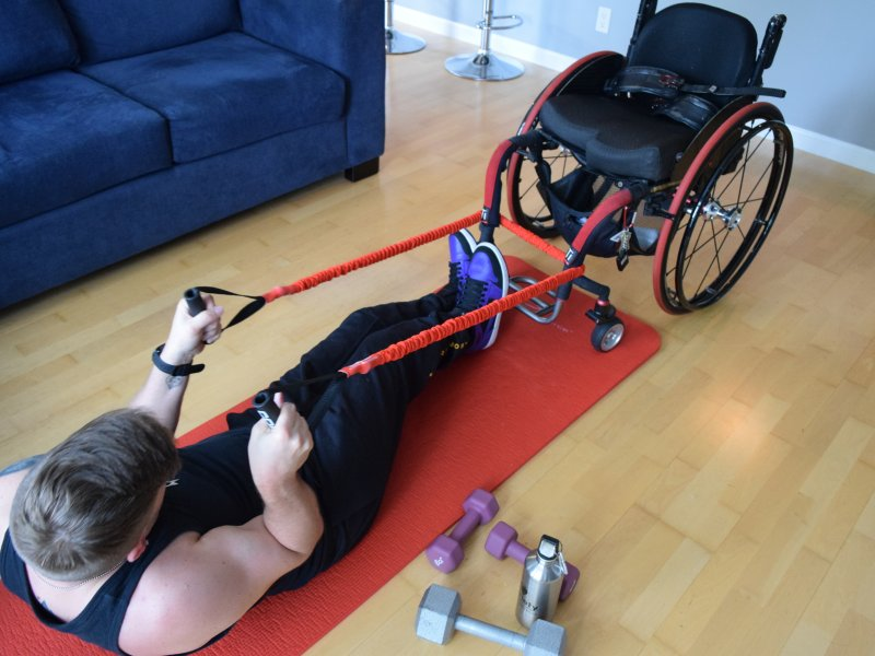 Keeping Fit at Home for People with Disabilities