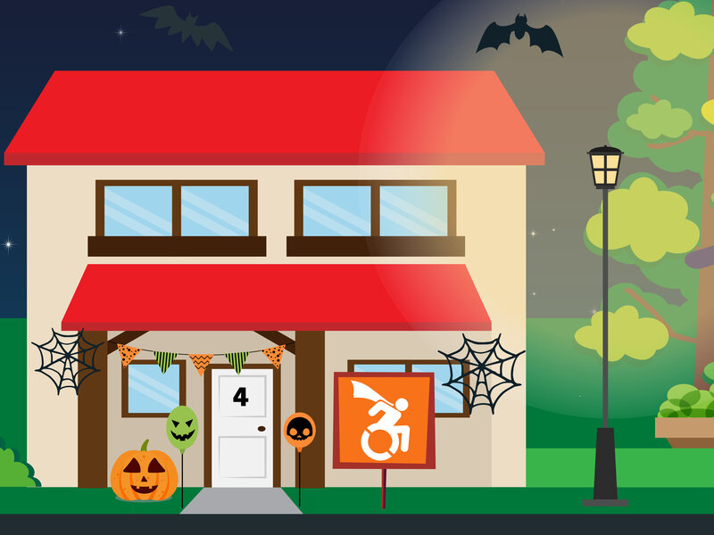 No need to leave anyone in the dark on Halloween – 4 Tips to make sure your Halloween is inclusive