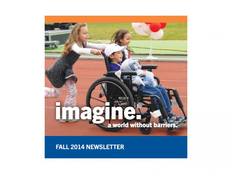Rick Hansen Foundation 2014 Fall Newsletter