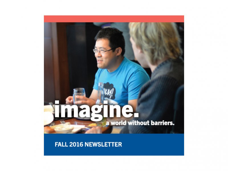 Rick Hansen Foundation Fall 2016 Newsletter