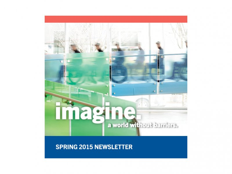 Rick Hansen Foundation 2015 Spring Newsletter