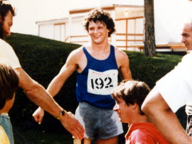 Terry Fox and Rick Hansen in 1977