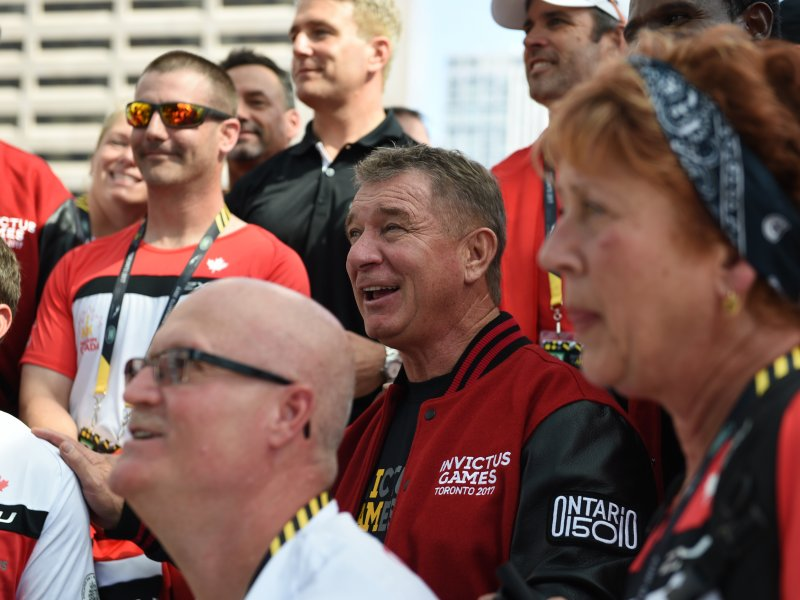 Rick Hansen at the Invictus Games. Photo Credit: CBC Toronto